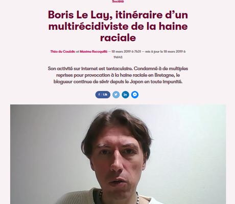 du pedigree bien dégueulasse d'une vermine fasciste : Le Lay Boris #BreizAtao #democratieparticipative