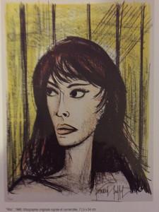 Galerie Estades    « Bernard BUFFET »  à partir du 23 Mars 2019 jusqu'au 28 Avril 2019