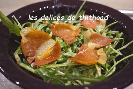 salade de lentilles au jambon