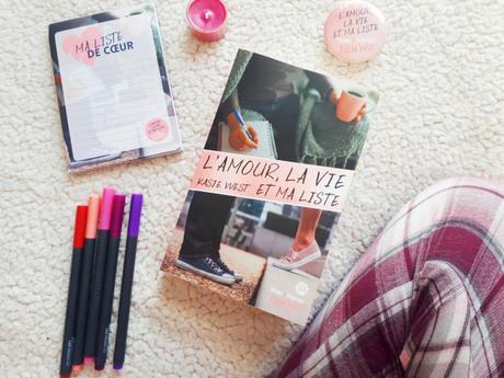 L'amour, la vie et ma liste – Kasie West