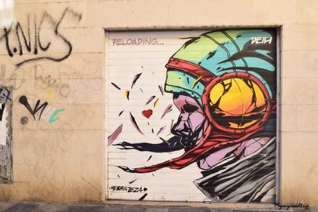 Découverte de Valence en Espagne entre street-art et food