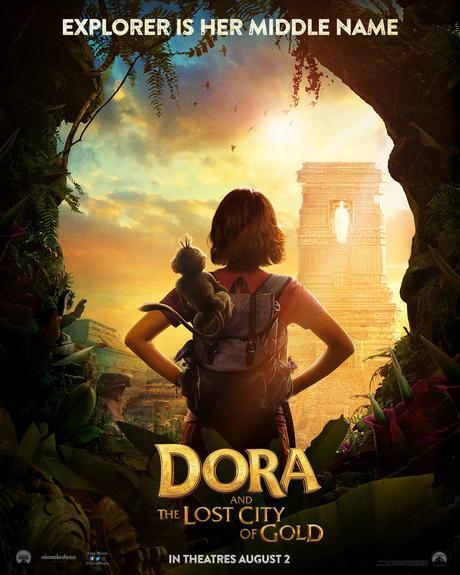 Premières photos de Dora et la Cité perdue