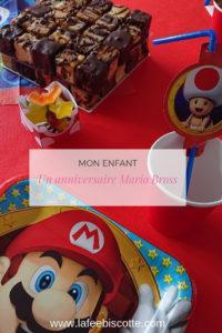 Un anniversaire Mario Bross