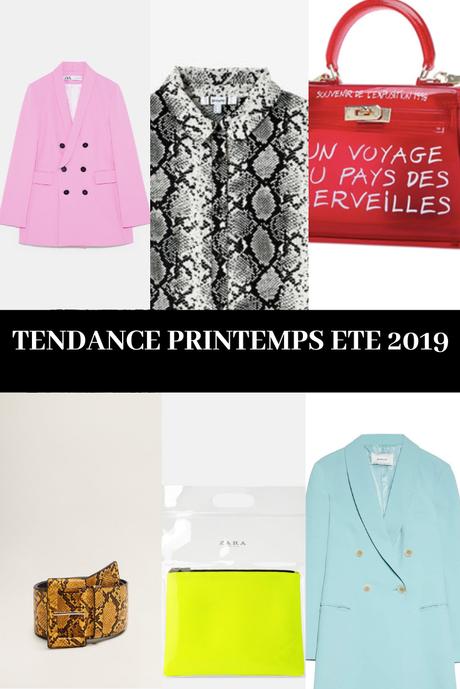 LES TENDANCES PRINTEMPS ÉTÉ 2019