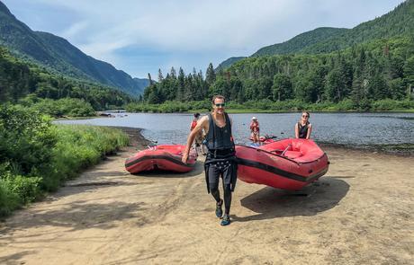 transport mini raft