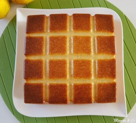 Moelleux ultra-rapide au citron et au lait ribot
