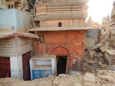 Le plan d'embellissement détruit les quartiers les plus anciens de Varanasi