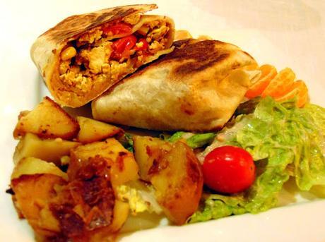 Burritos brunch