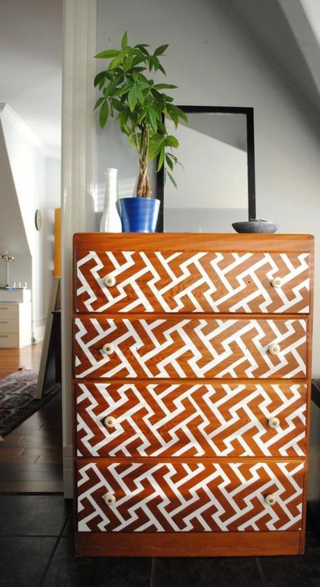 bons plans étudiant diy meuble bois peinture blanche - blog déco - clem around the corner