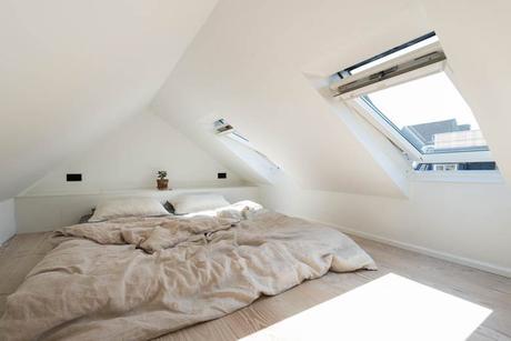 intérieur sur mesure chambre sous les toits