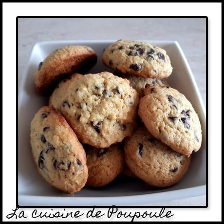 Cookies chocolat noix de coco