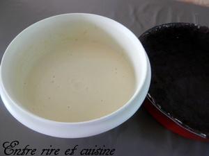 """Gâteau russe crumble fromage blanc """"Tarte lait caillé"""""""