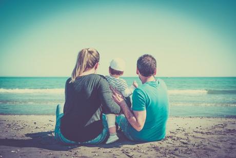 photo de famille à Frontignan Plage