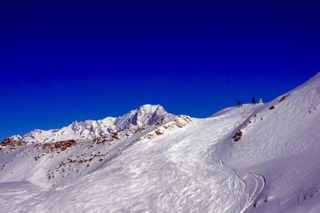 Le mont Blanc vu de la télécabine de la Roche de Mio © French Moments