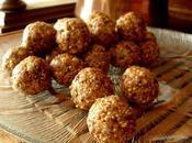 Boulettes fruits cacahuètes raisins secs (Vegan)