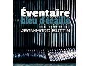 Éventaire, bleu d'écaille, Jean-Marc Buttin
