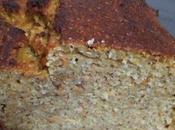 Cake carottes pommes banane fruits secs