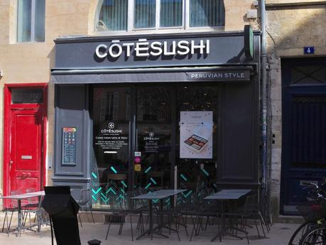 Côté Sushi, restaurant japonais aux saveurs péruviennes à Bordeaux (33)