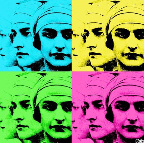 Diddie façon Warhol, d'après une gravure de