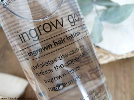 A bas les poils incarnés avec la Lotion Ingrow go Skin Doctors