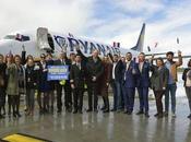Ryanair ouvre base Bordeaux