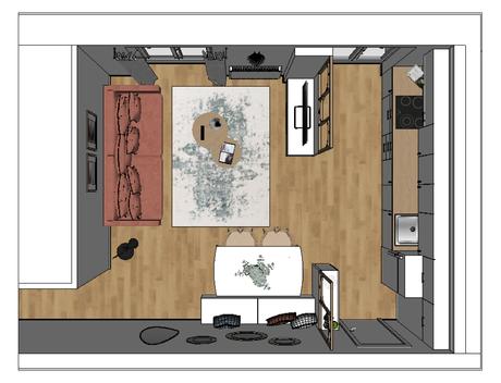 Délimiter les espaces tout en donnant du cachet à une pièce