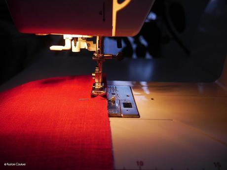 Coudre un snood en wax pour le printemps | Kustom Couture