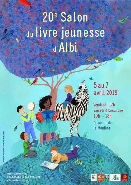 Salon du livre jeunesse d'Albi 2019