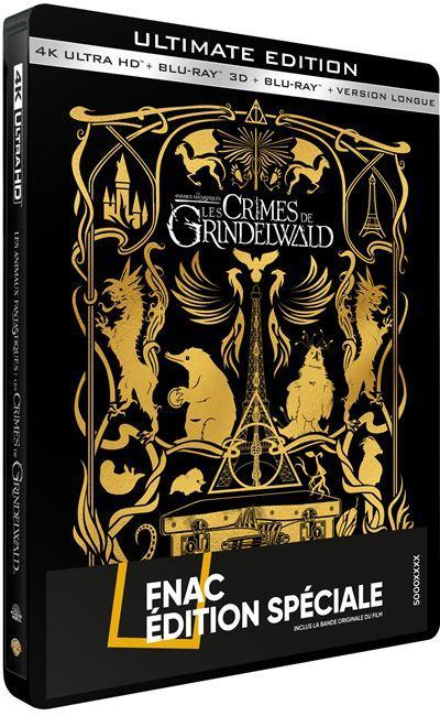 [CONCOURS] Gagnez votre Steelbook des Crimes de Grindelwald !
