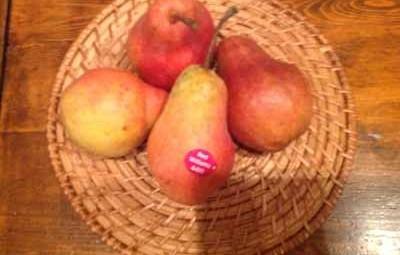Délicieux de poires à la cannelle