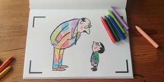 Cahier de Dessin Animé - Le Petit Nicolas, Goscinny et Sempé