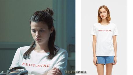 QUICKSAND : le t-shirt «PEUT-ÊTRE» de Maja dans l'épisode 6