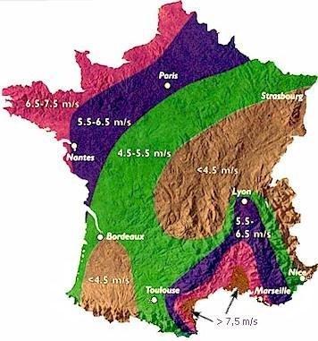 plante balcon ouest carte région vent france - blog déco - clem around the corner