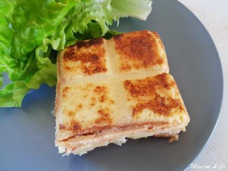 Croque-tablette montagnard à la raclette