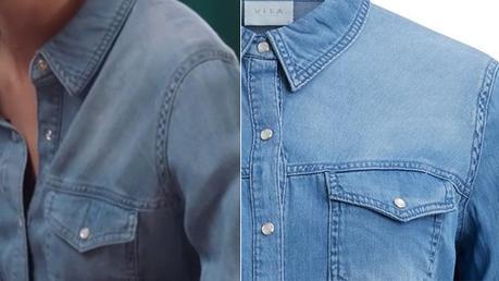 DEMAIN NOUS APPARTIENT : la chemise en denim de Victoire dans l'épisode 339