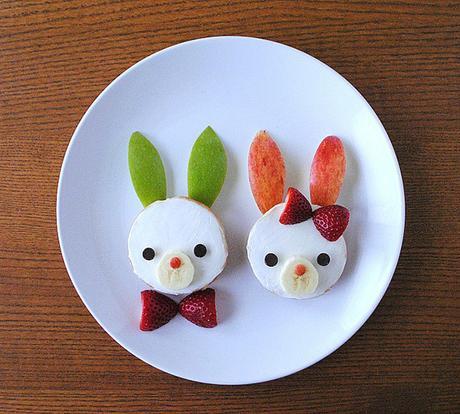DIY de Pâques - bagel bunny