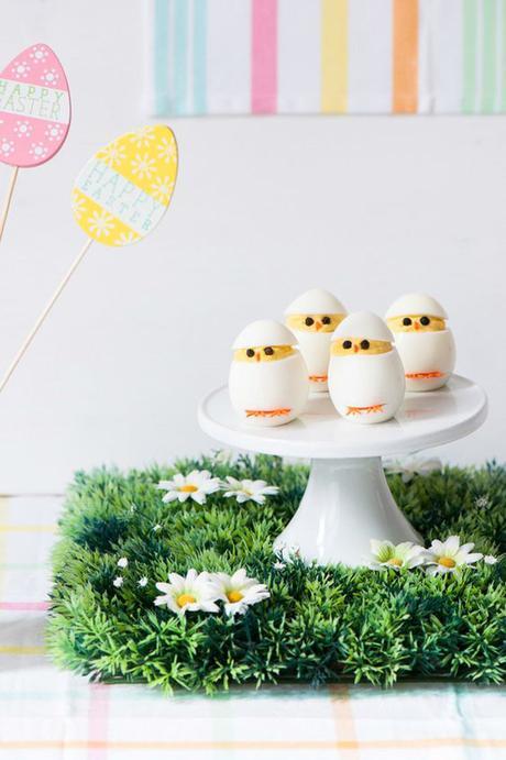 DIY de Pâques - oeufs poussins