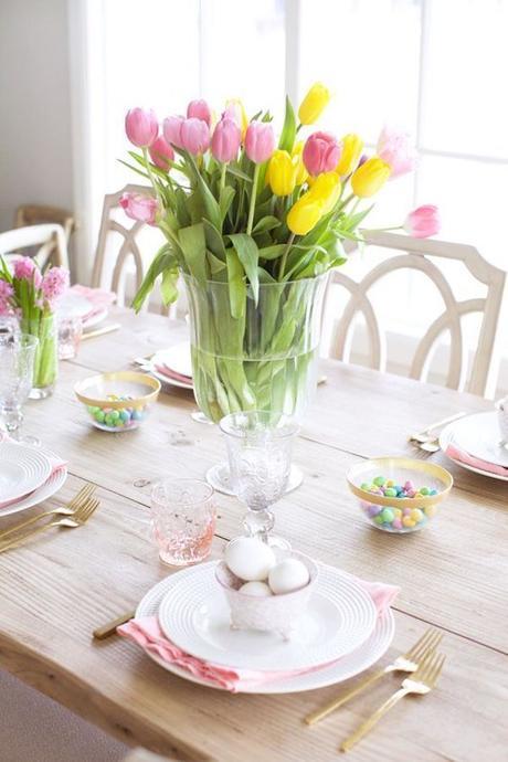 Table de Pâques déco : inspiration printanière