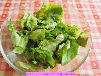 Oseille farcie au sarrasin et sauce aux orties (Vegan)