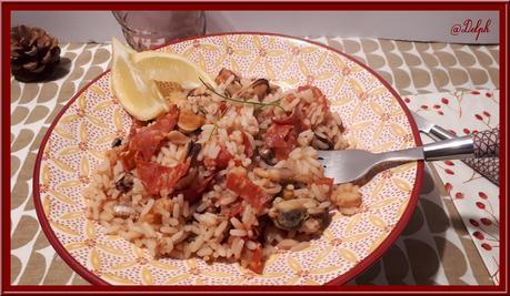 Riz aux fruits de mer et chorizo au Cookéo