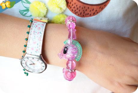 Son bracelet Twisty Petz