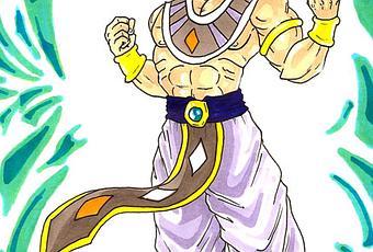 Dessin Couleur De Broly En Super Saiyan God Dragon Ball