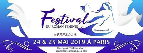Voici les dernières annonces pour le Festival du Roman Féminin 2019 !