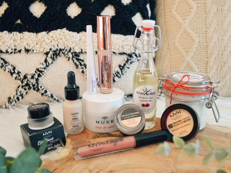 Sélection de nouveautés sur le site Notino (makeup, soins visage et corps)