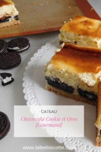 Cheesecake Cookie et Oreo {Gourmand}