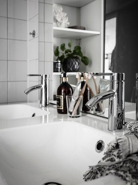 loft suédois double vasque blanc chic scandinave - blog déco - clem around the corner