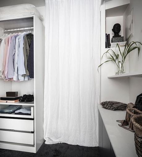 loft suédois dressing armoires rangement - blog déco - clem around the corner