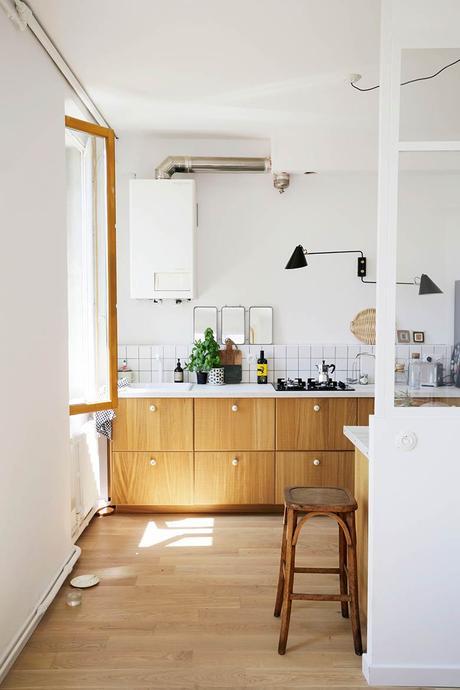 déco cuisine verrière blanche