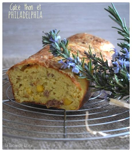 Cake au thon et Philadelphia