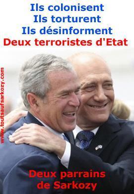 Olmert, l'un des commanditaires de Sarkozy, est bien un escroc.